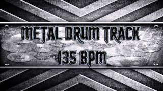 Metal Drum Track 135 BPM (HQ,HD)