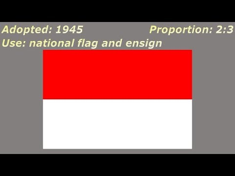 Flags Of Indonesia