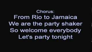 R.I.O. feat. Nicco - Party Shaker [ Lyrics ]