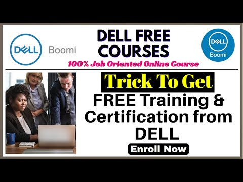 Get Dell Boomi FREE Training and Certification   Watch New Trick ...