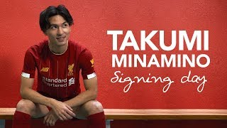 Signing Day VLOG: Minamino's first day at Liverpool   サイニングVlog - 南野拓実選手のリヴァプールFCでの初日に密着