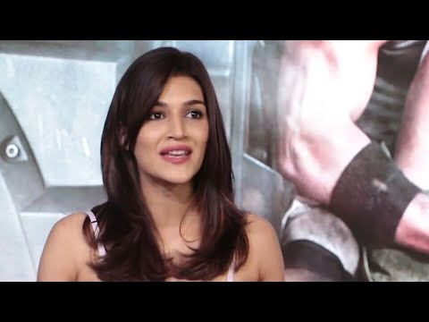 Baaghi 2 Review : Kriti Sanon Talks About Tiger Shroff, Baaghi 2, Disha Patani, Upcoming Projects