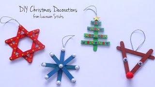 DIY Christmas Decorations   Homemade Christmas Ornaments   Easy Christmas Crafts For Kids