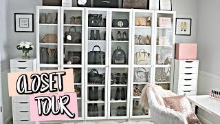 (LUXURY) CLOSET TOUR! | Belinda Selene