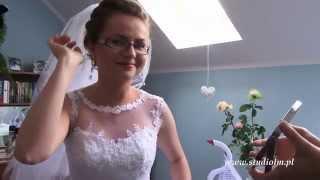 Wesele, Ślub, Joanna i Paweł skrót wesela