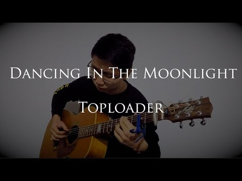 "Unbelievable fingerstyle cover of ""dancing in the moonlight"" that only has 4000 views"