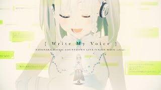 YuNi MV「Write My Voice」from 2019.4.30 - 5.1 LIVE