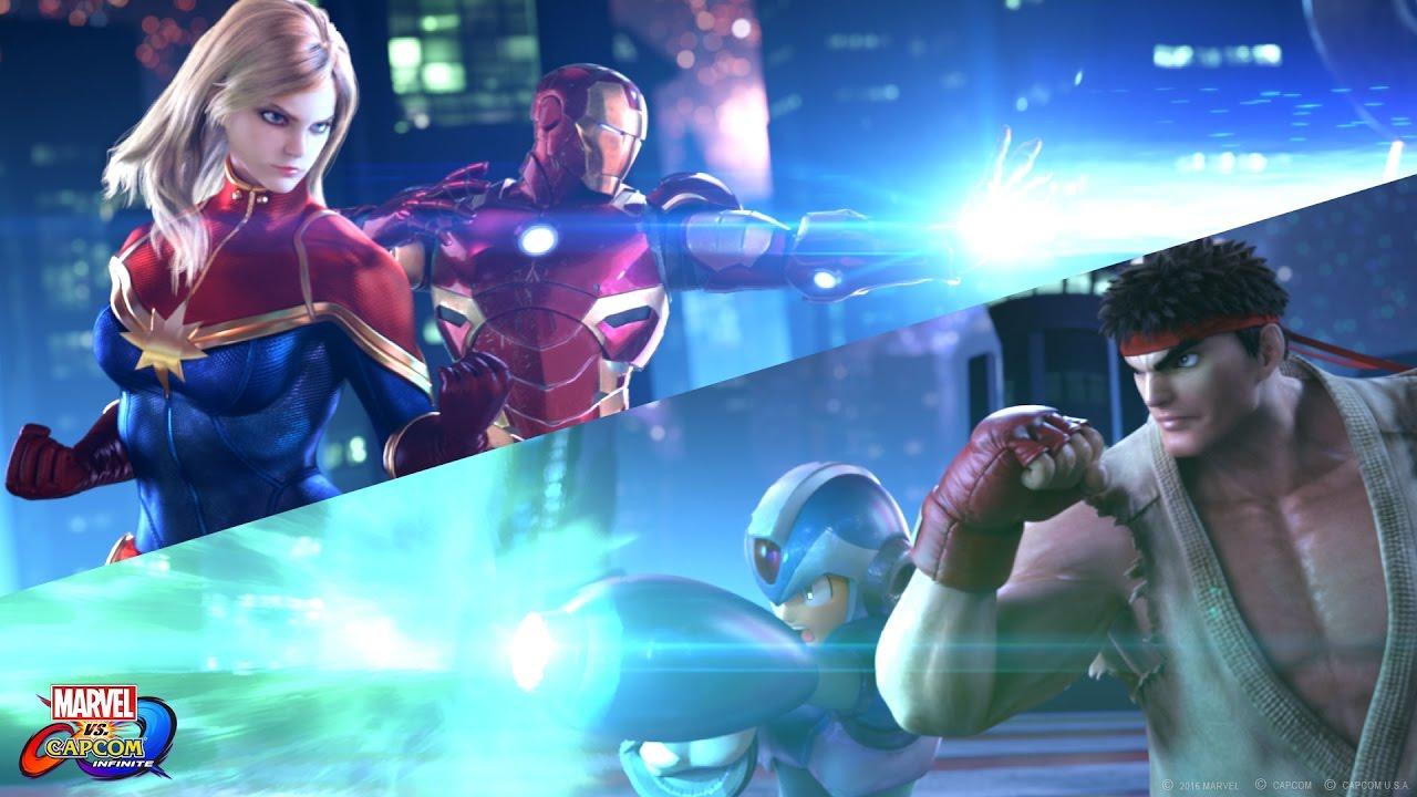 Trailer di Marvel vs. Capcom Infinite
