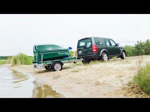 Die Weltneuheit - red snapper - Anhänger + Transportgestell + Kompaktboot