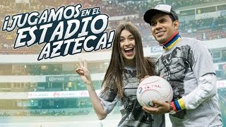 ¡JUGAMOS EN EL ESTADIO AZTECA! (SALE MAL) 100% REAL 4K #37