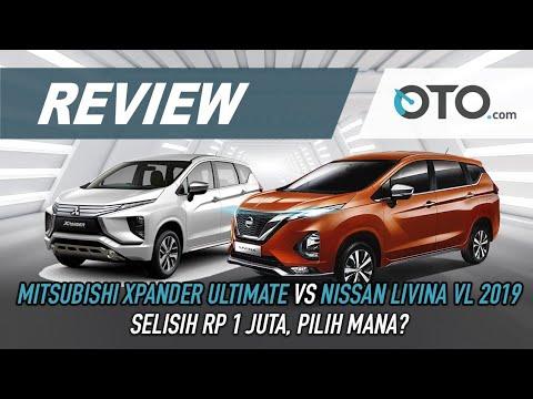 Nissan Livina VL 2019 vs Mitsubishi Xpander Ultimate | Review | Selisih Rp 1Juta | OTO.Com