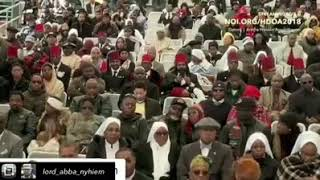 Minister Louis Farrakhan Gives Honor To Moors