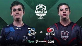 Isurus Gaming VS Cream Esports | Semifinales | Liga Master Flow Playoffs Clausura | Mapa 3
