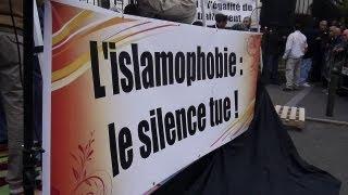 preview picture of video 'L'islamophobie tue, rassemblement à Argenteuil pour dénoncer les agressions et crimes islamophobes'