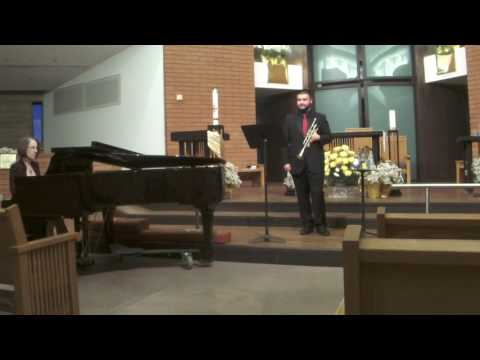 This is from my freshman recital in April 2017