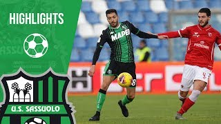 Coppa Italia: Sassuolo-Perugia 1-2, highlights