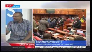 Dira ya Wiki: Kinyang'anyiro 2017; Marekebisho ya sheria za uchaguzi wa 2017, 30/12/16 Part 2