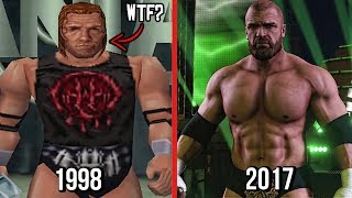 The Evolution Of Triple H In WWE Games! ( WWF War Zone To WWE 2K18 )