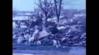 Xenia Tornado Aftermath 1974