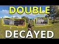 Download Video TWO DECAYED RUST BASES GIVE FREE LOOT - Rust Solo Survival Gameplay