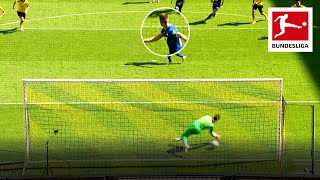 Cheeky No Look Penalty - Kramaric Outsmartes Borussia Dortmund's Bürki