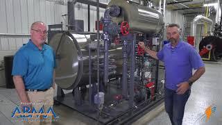Talking about the Vapor Power Boiler