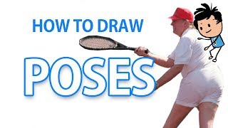 😡If You HATE Drawing Poses, Watch This 😡 (cool Tricks)