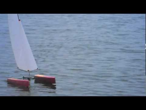 RC65 Race Catamaran - Richard's Boat