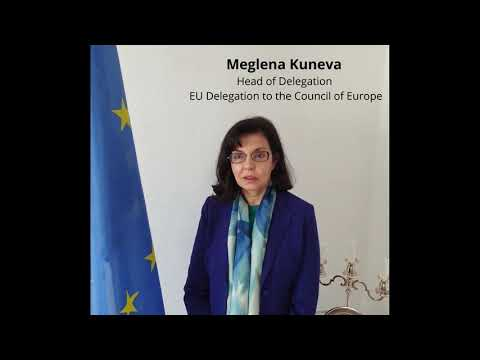 EU Ambassador to the Council of Europe Meglena Kuneva - Message Europe Day 2020