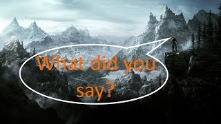 Make skyrim voices louder (pc only)