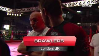 Fight 4 of the TFC Event 3 Brawlers (London, UK) vs San-Da PFC (Riga, Latvia)