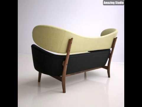 Skandinavische Möbel Schönes Sofa