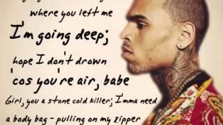Chris Brown - Die For You (Lyrics)