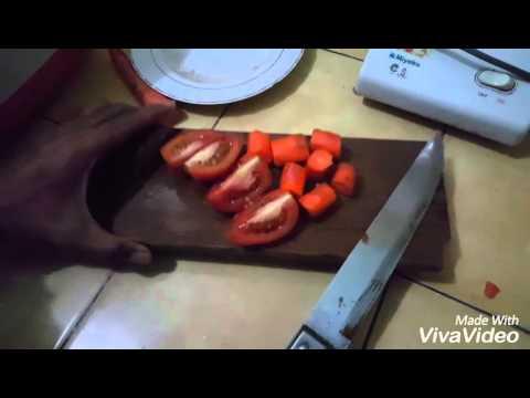 Video Cara membuat jus tomat dan wortel