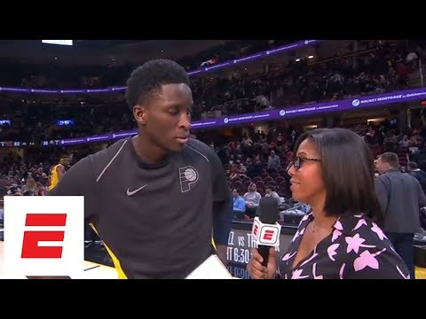 Indiana Pacers star Victor Oladipo praises his team in Game 1 upset over Cavaliers | ESPN