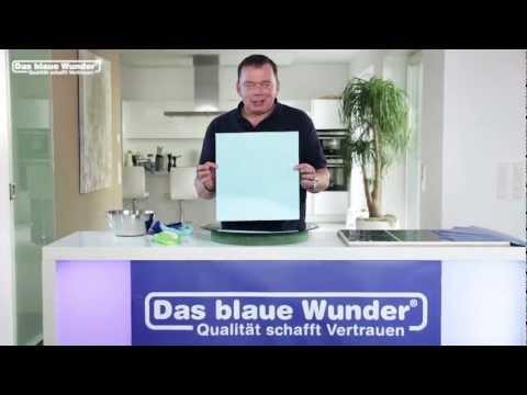 Das blaue Wunder - Classic - Das Wundertuch für Fenster und Spiegel