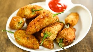 How To Make Jalapeno Poppers | Crispy Jalapeno Poppers Recipe | Mexican Recipe By Varun Inamdar