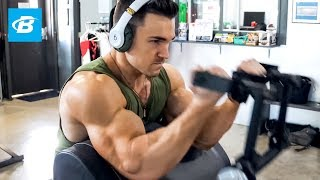 Mass Building Superset Arm Workout | Abel Albonetti
