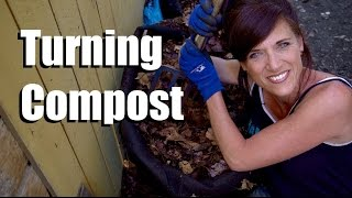 Hot Compost: Turning Your  Pile & Having a Continual Supply // Feeding Your Garden EXTRA