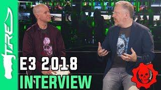 Rod Fergusson on Gears of War 5, Gears Tactics, Gears POP! & MORE! (FULL XBOX E3 2018 INTERVIEW)