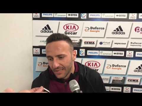 Albissola-Arezzo 1-2, intervista a Nello Cutolo