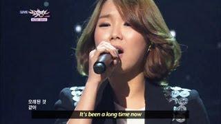 [Music Bank w/ Eng Lyrics] Kim Bo kyung - Lay Down (2013.04.13)