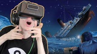 TITANIC SINKING SIMULATOR IN VR | Fall of the Titanic (Oculus Rift: DK2 Gameplay)