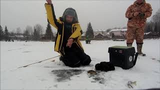 Рыбалка на чанах зима 2019 год