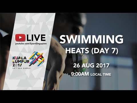 Swimming Heats (Day 7) | 29th SEA Games 2017