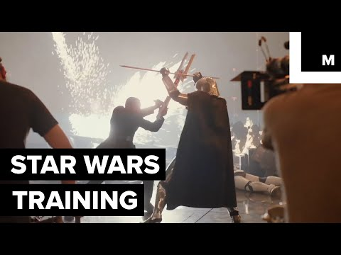 How the Cast of 'Star Wars: The Last Jedi' Trained for Their Roles