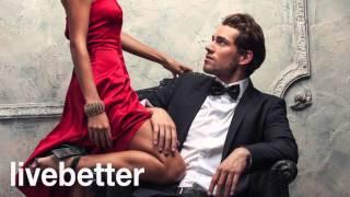 Jazz romántico sensual instrumental suave con piano, guitarra, saxofon