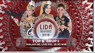 NANTIKAN MALAM INI! Liga Dangdut Indonesia 2019 Top 6 Grup 1 Konser Show - 23 April 2019