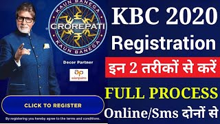 How to】 Register In Kbc