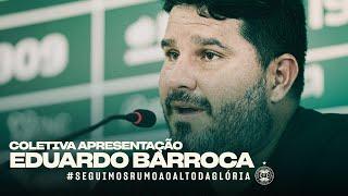 Coletiva apresentação - Eduardo Barroca